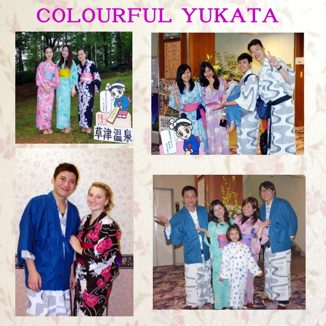 Colourful Yukata