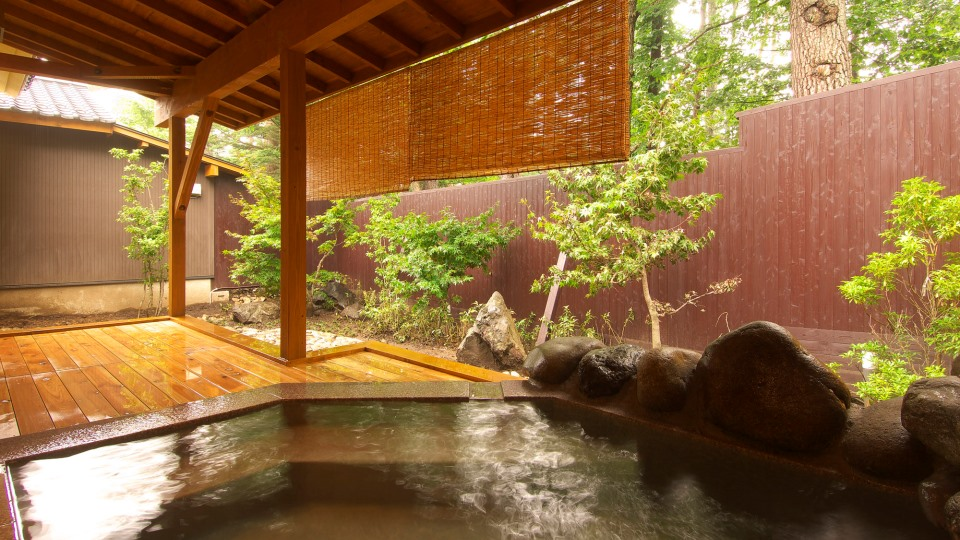 Open-air Onsen for gentlemen
