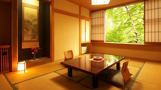 Japanese Style Rooms of Relaxation