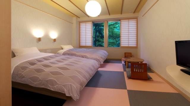 Oriental Modern / Superio Twin Rooms
